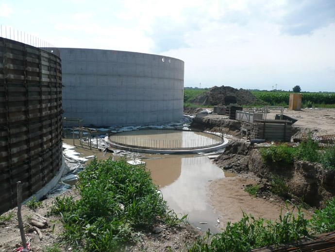 Errichtung einer Biogasanlage in der SZA Zitzschen
