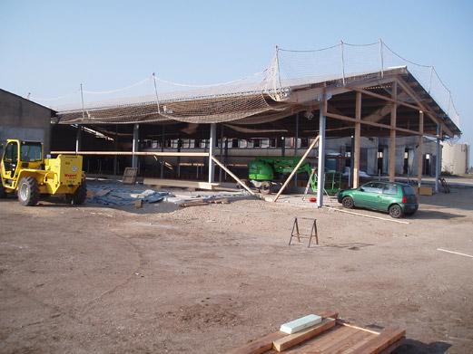 Errichtung eines Abkalbezentrums in der MVA Bobbau