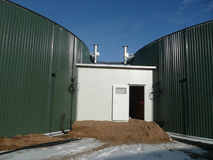 Biogasanlage in der THA Stößen