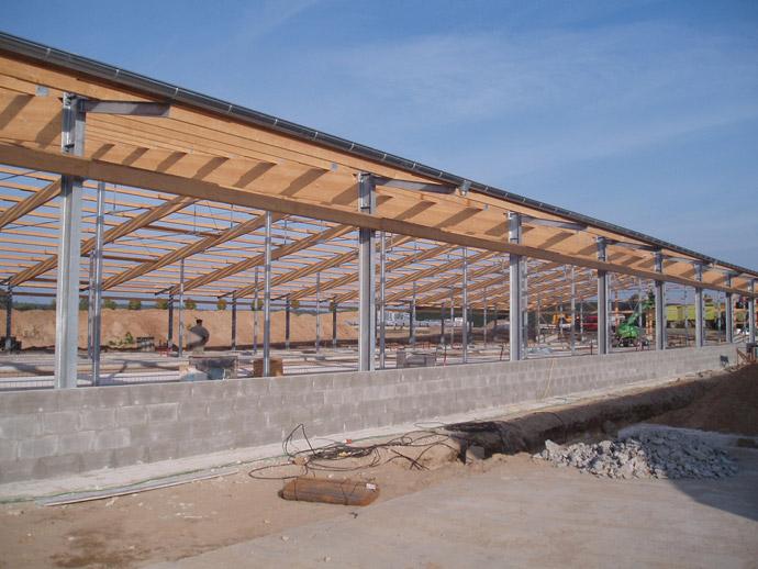 Errichtung eines Milchviehstalles in der MVA Gadegast