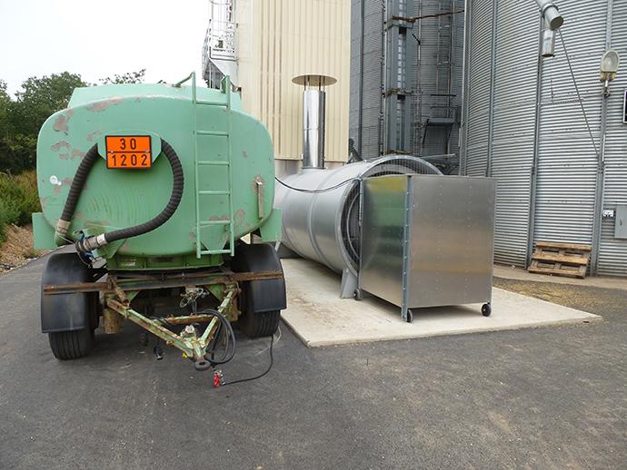 Getreidetrocknungsanlage Osterland GmbH
