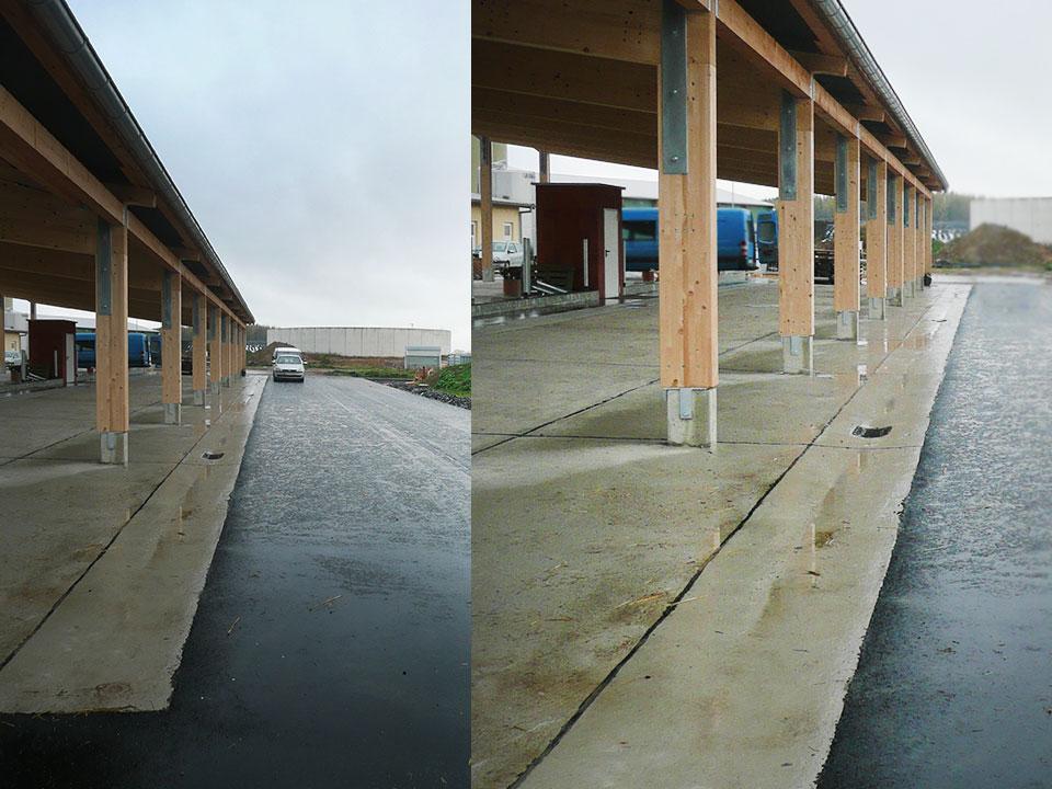 Neubau eines Kälberstalls in der MVA Pfaffroda