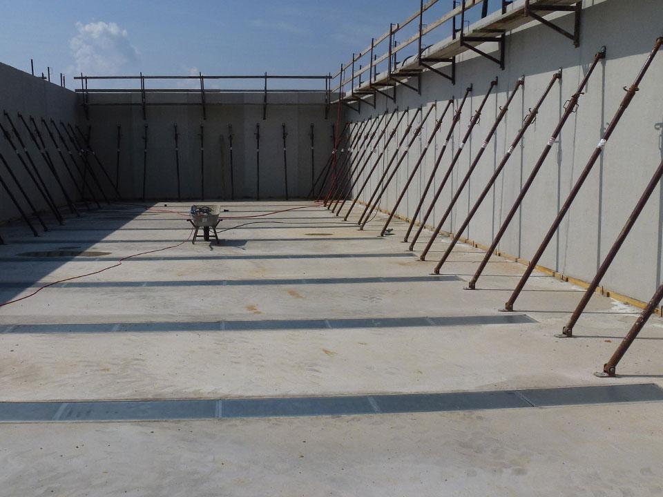 Agrarbetrieb Bielatal eG Neubau MVA Pfaffroda Getreidelager- und Bergehalle