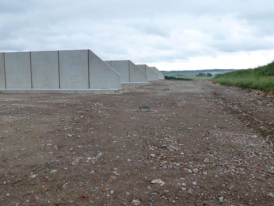 Agrarbetrieb Bielatal eG Neubau MVA Pfaffroda Horizontalsilo-Anlage