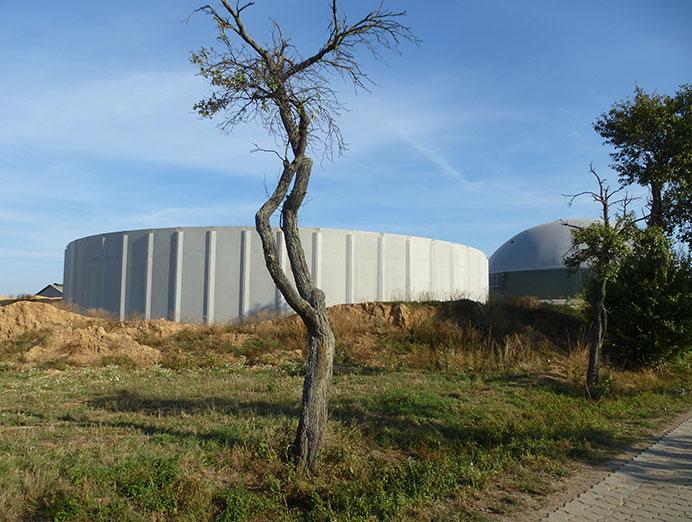 MVA Beiersdorf: Errichtung eines Güllebehälters