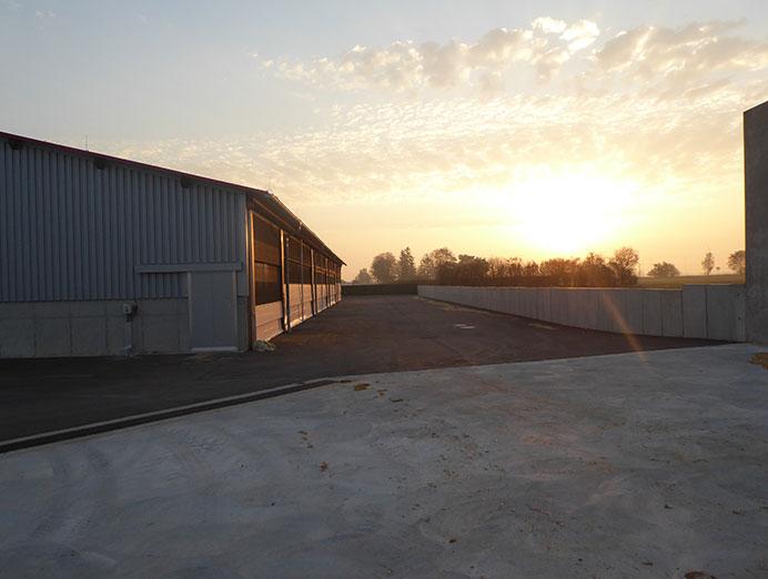 MVA Tornau vor der Heide Neubau Abkalbestall