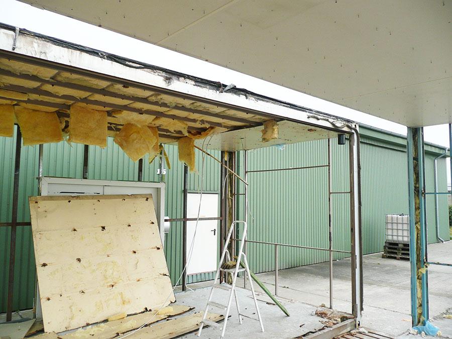 Container-Bestand 2005: Ackerbau-Kluemper eK: Bürogebäude aus Altcontainern